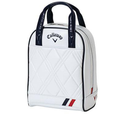 キャロウェイ PU SPORT WMS ピーユー スポーツ ウィメンズ レディース シューズケース 21 JM 5921057 ホワイト/ネイビー 2021年モデル ホワイト/ネイビー(5921057)