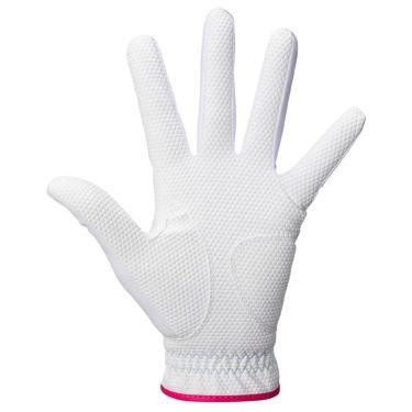 キャロウェイ STYLE WMS スタイル ウィメンズ レディース ゴルフグローブ 21 JM ホワイト/ピンク 2021年モデル 詳細2