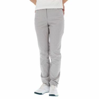 ブラック&ホワイト Black&White レディース ラインストーンロゴ ストレッチ ロングパンツ BLS5000CA 2020年モデル [裾上げ対応1] グレー(23)