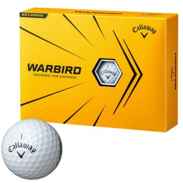 キャロウェイ WARBIRD ウォーバード ゴルフボール 2021年モデル 1ダース(12球入り) ホワイト