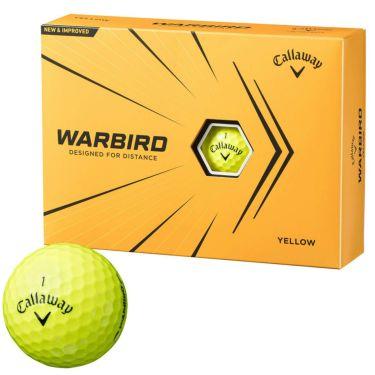 キャロウェイ WARBIRD ウォーバード ゴルフボール 2021年モデル 1ダース(12球入り) イエロー