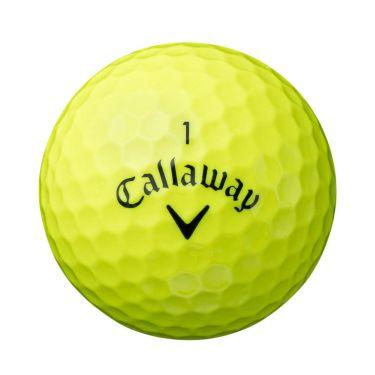 キャロウェイ WARBIRD ウォーバード ゴルフボール 2021年モデル 1ダース(12球入り) イエロー 詳細1