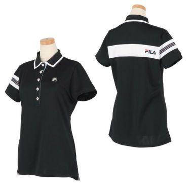 フィラ FILA レディース 配色切替 メッシュ生地 ロゴ刺繍 半袖 ポロシャツ 750-602 2020年モデル 詳細3