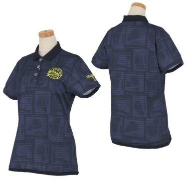 フィラ FILA レディース メッシュ生地 総柄 半袖 ポロシャツ 750-610 2020年モデル 詳細3