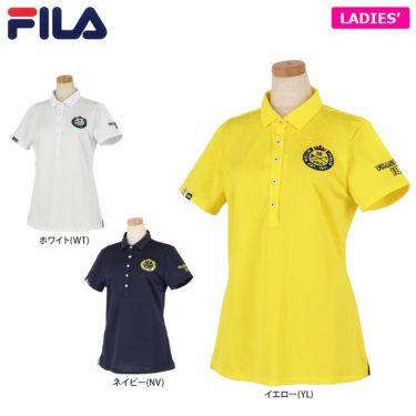 フィラ FILA レディース ジャカード トライバル柄 半袖 ポロシャツ 750-611 2020年モデル 詳細1
