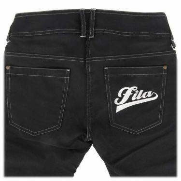 フィラ FILA レディース ロゴ刺繍 ストレッチ ロングパンツ 750-300 2020年モデル [裾上げ対応1] 詳細4