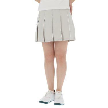 フィラ FILA レディース ハニカム パイピング プリーツ スカート 750-305 2020年モデル グレー(GY)