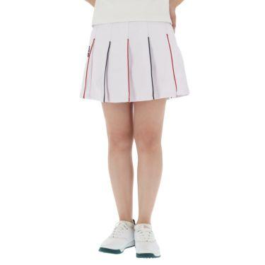 フィラ FILA レディース ハニカム パイピング プリーツ スカート 750-305 2020年モデル ホワイト(WT)