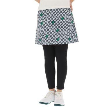 マリクレール marie claire レディース 総柄プリント レギンス一体型 スカート 710-307 2020年モデル 詳細1