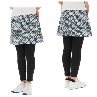 マリクレール marie claire レディース 総柄プリント レギンス一体型 スカート 710-307 2020年モデル 詳細3