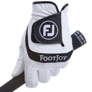 フットジョイ FootJoy NANOLOCK TECH ナノロック テック 2021年モデル メンズ ゴルフグローブ FGNTC21 WT ホワイト/ブラック 詳細1