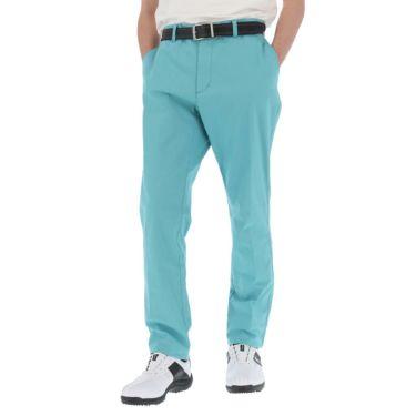 マンシングウェア Munsingwear メンズ ロゴ刺繍 綿混 ストレッチ ロング パンツ MGMRJD01 2021年モデル [裾上げ対応1●] エメラルド(EM00)