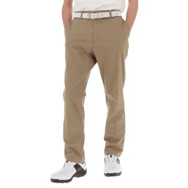 マンシングウェア Munsingwear メンズ ロゴ刺繍 綿混 ストレッチ ロング パンツ MGMRJD01 2021年モデル [裾上げ対応1●] ベージュ(BG00)