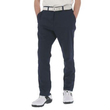 マンシングウェア Munsingwear メンズ ロゴ刺繍 綿混 ストレッチ ロング パンツ MGMRJD01 2021年モデル [裾上げ対応1●] ネイビー(NV00)