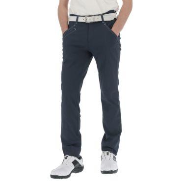 ルコック Le coq sportif メンズ ドビー ストレッチ テーパード ロングパンツ QGMRJD03 2021年モデル [裾上げ対応1●] ネイビー(NV00)