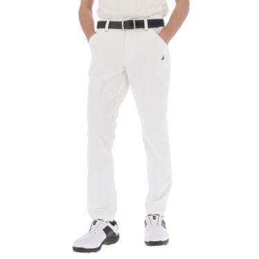 ルコック Le coq sportif メンズ ストレッチ 9分丈 テーパード ロングパンツ QGMRJD09 2021年モデル ホワイト(WH00)