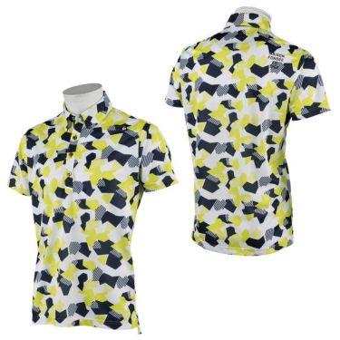 ルコック Le coq sportif メンズ カモフラージュ柄 半袖 ボタンダウン ポロシャツ QGMRJA11 2021年モデル 詳細3