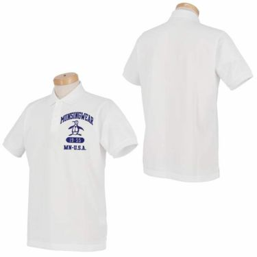 マンシングウェア Munsingwear メンズ ロゴ刺繍 半袖 ポロシャツ MGMRJA04 2021年モデル 詳細3