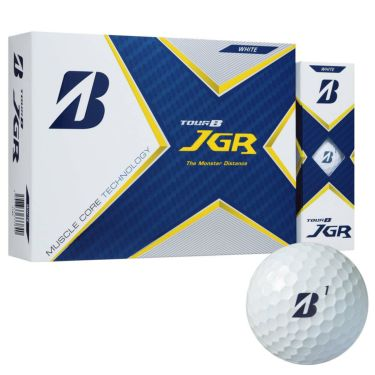 ブリヂストン TOUR B JGR 2021年モデル ゴルフボール 1ダース(12球入り) ホワイト ホワイト