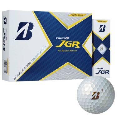 オウンネーム専用 ブリヂストン TOUR B JGR 2021年モデル ゴルフボール 1ダース(12球入り) パールホワイト
