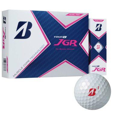 オウンネーム専用 ブリヂストン TOUR B JGR 2021年モデル ゴルフボール 1ダース(12球入り) パールピンク