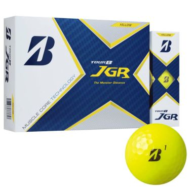 オウンネーム専用 ブリヂストン TOUR B JGR 2021年モデル ゴルフボール 1ダース(12球入り) イエロー