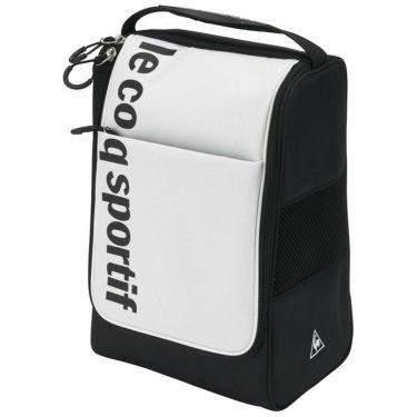 ルコック Le coq sportif メンズ メッシュ切替 シューズケース QQBRJA20 WH00 ホワイト 2021年モデル ホワイト(WH00)