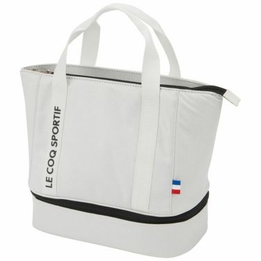 ルコック Le coq sportif メンズ 二層式 カートバッグ QQBRJA41 WH00 ホワイト 2021年モデル ホワイト(WH00)