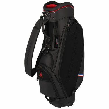 ルコック Le coq sportif メンズ セルフスタンドクラブケース付き キャディバッグ QQBRJJ01W BK00 ブラック 2021年モデル ブラック(BK00)