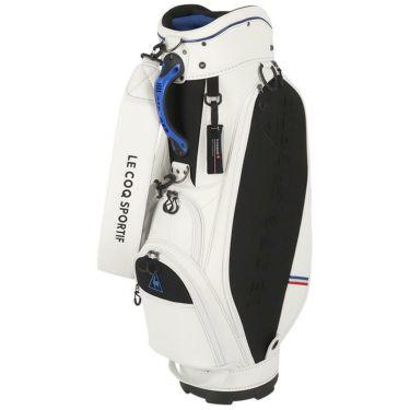 ルコック Le coq sportif メンズ セルフスタンドクラブケース付き キャディバッグ QQBRJJ01W WH00 ホワイト 2021年モデル ホワイト(WH00)