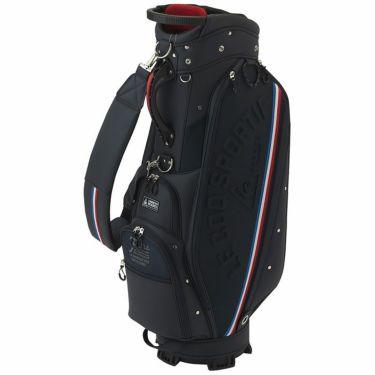 ルコック Le coq sportif メンズ ロゴエンボス キャディバッグ QQBRJJ09 NV00 ネイビー 2021年モデル ネイビー(NV00)
