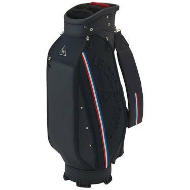 ルコック Le coq sportif メンズ ロゴエンボス キャディバッグ QQBRJJ09 NV00 ネイビー 2021年モデル 詳細1