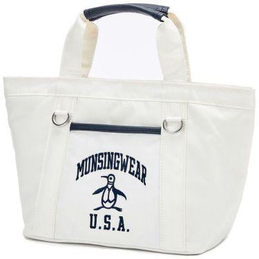 マンシングウェア Munsingwear メンズ 保温保冷 カートバッグ MQBRJA40 WH00 ホワイト 2021年モデル ホワイト(WH00)