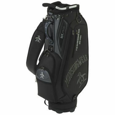 マンシングウェア Munsingwear メンズ ロゴ刺繍 キャディバッグ MQBRJJ02 BK00 ブラック 2021年モデル ブラック(BK00)