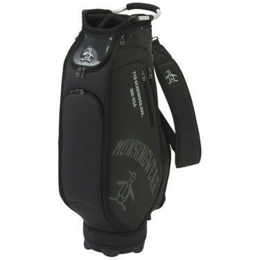 マンシングウェア Munsingwear メンズ ロゴ刺繍 キャディバッグ MQBRJJ02 BK00 ブラック 2021年モデル 詳細1