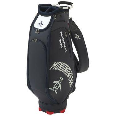 マンシングウェア Munsingwear メンズ ロゴ刺繍 キャディバッグ MQBRJJ02 NV00 ネイビー 2021年モデル 詳細1