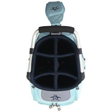マンシングウェア Munsingwear メンズ ロゴ刺繍 キャディバッグ MQBRJJ02 SA00 サックス 2021年モデル 詳細2