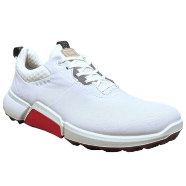 ecco エコー M GOLF BIOM H4 バイオム ハイブリッド4 メンズ スパイクレス ゴルフシューズ 108204 01007 WHITE WHITE(01007)