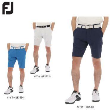 フットジョイ FootJoy メンズ 総柄 Xプリント 生地切替 ショートパンツ FJ-S20-P09 2020年モデル 詳細1