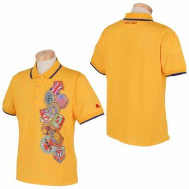フィッチェゴルフ FICCE GOLF メンズ KENKEN プリント柄 半袖 ポロシャツ 291115 詳細3