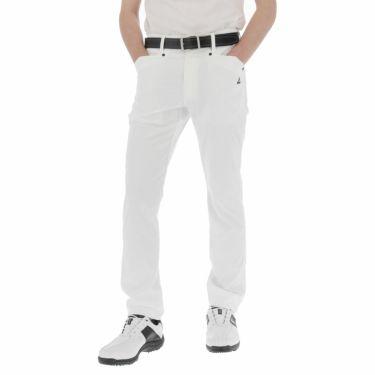 【ss特価】△ルコック メンズ ストレッチ ロングパンツ QGMPJD00 [2020年モデル] ゴルフウェア [春夏モデル 50%OFF] 特価 [裾上げ対応1●] ホワイト(WH00)