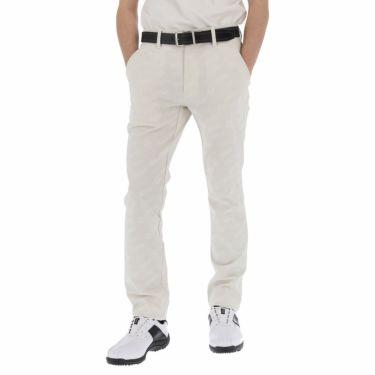 ルコック Le coq sportif メンズ ジャカード 総柄 ストレッチ ロングパンツ QGMPJD01 2020年モデル [裾上げ対応1●] ホワイト(WH00)