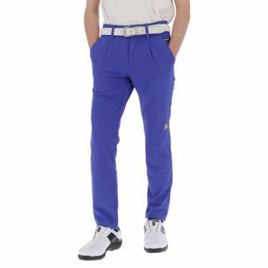 【ss特価】△ルコック メンズ 4WAYストレッチ ワンタック ロングパンツ QGMPJD03 [2020年モデル] ゴルフウェア [春夏モデル 50%OFF] 特価 [裾上げ対応1●] ブルー(BL00)