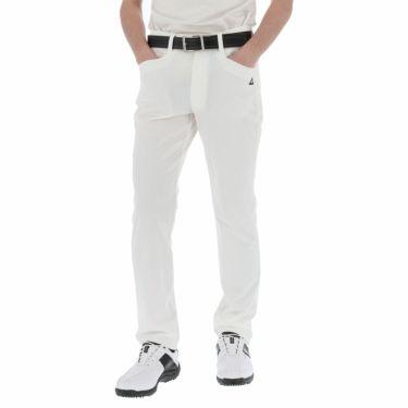 ルコック Le coq sportif メンズ 4WAYストレッチ テーパード ロングパンツ QGMPJD08 2020年モデル [裾上げ対応1●] ホワイト(WH00)