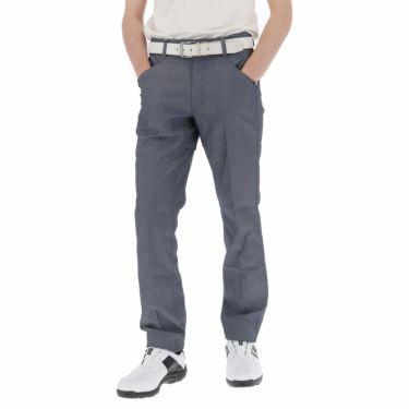 ルコック Le coq sportif メンズ ロゴプリント テーパード ロングパンツ QGMPJD11 2020年モデル [裾上げ対応1●] ネイビー(NV00)