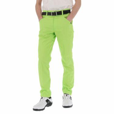 ルコック Le coq sportif メンズ ロゴプリント テーパード ロングパンツ QGMPJD11 2020年モデル [裾上げ対応1●] グリーン(GR00)
