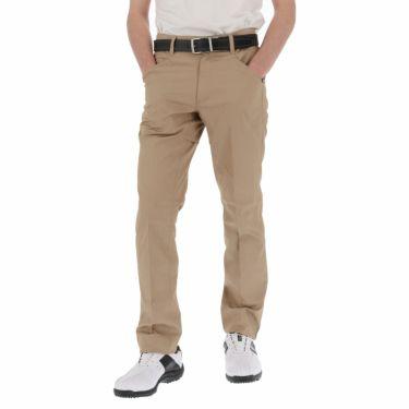 【ss特価】△ルコック メンズ ロゴプリント テーパード ロングパンツ QGMPJD11 [2020年モデル] ゴルフウェア [春夏モデル 50%OFF] 特価 [裾上げ対応1●] ベージュ(BG00)