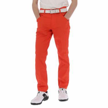 ルコック Le coq sportif メンズ ロゴプリント テーパード ロングパンツ QGMPJD11 2020年モデル [裾上げ対応1●] オレンジ(OR00)
