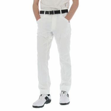 ルコック Le coq sportif メンズ ロゴプリント テーパード ロングパンツ QGMPJD11 2020年モデル [裾上げ対応1●] ホワイト(WH00)