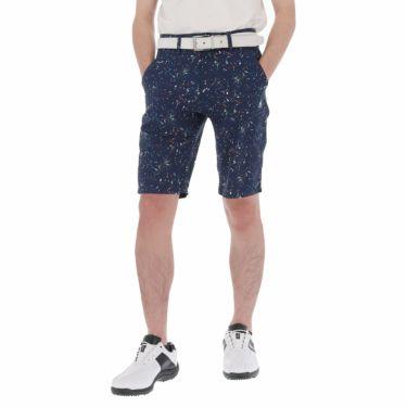 ルコック Le coq sportif メンズ スプラッシュ柄 ショートパンツ QGMPJD53 2020年モデル ネイビー(NV00)